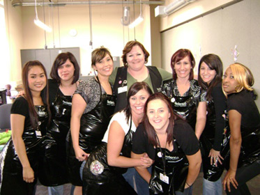 Federico Beauty Institute Students