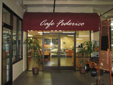 The outside of Cafe Federico
