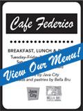 Cafe Federico Menu Thumbnail