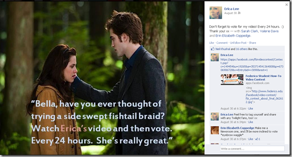 Bella and Edward Meme