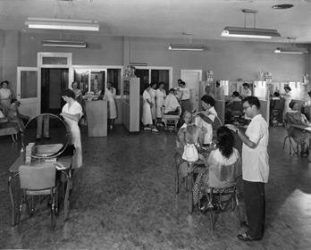 Historic Photo of Federico Beauty Institute (circa 1950's)