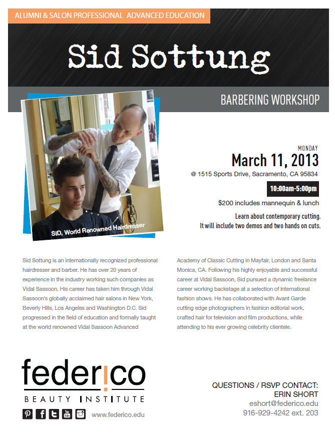 Sid Sottung Flyer Monday
