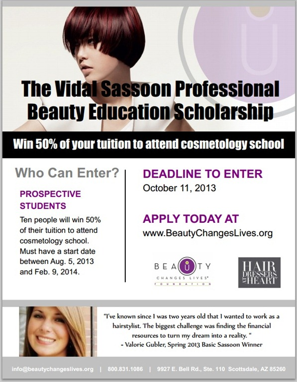Scholarship essays for cosmetology