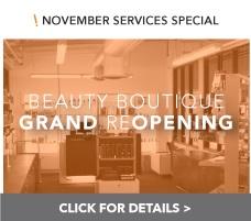November 2013 Services Promo