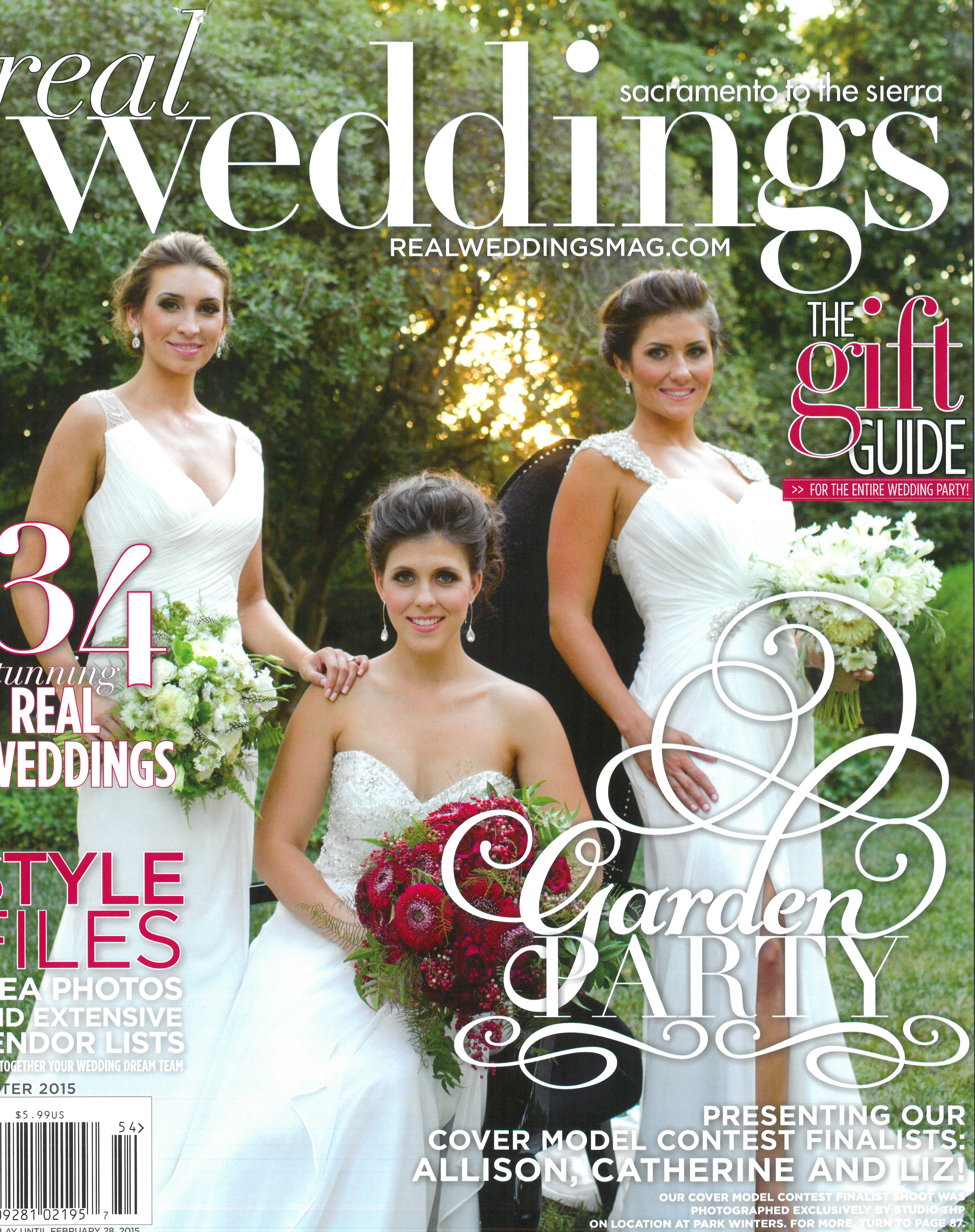 Real Weddings Cover