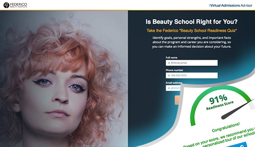 Federico Beauty Institute Virtual Asmissions Advisor