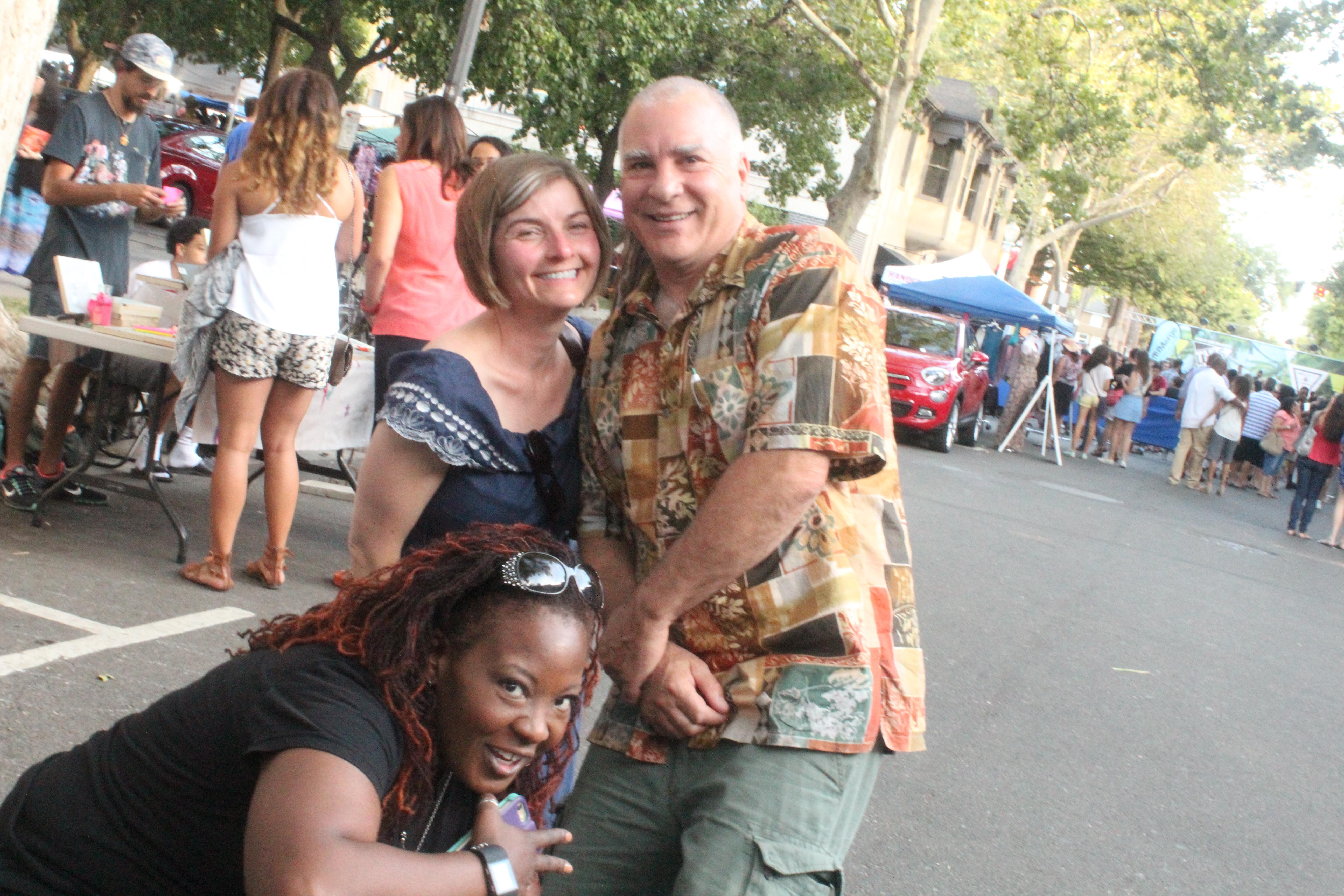 Ms. Kay, Ms. Cara, and Mr. Gary Federico