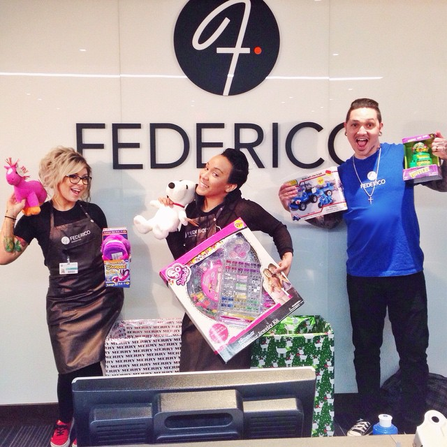Federico Toy Drive April Lopes
