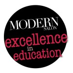 Modern Salon Excellence in Education badge