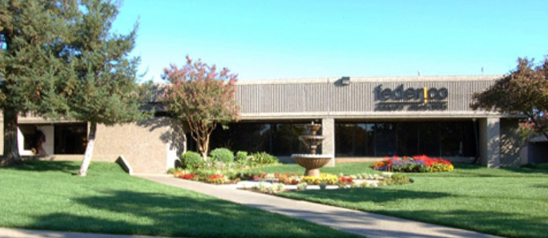 View of the front of the Federico Beauty Institute campus in Sacramento, California