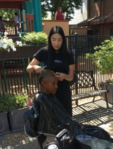 maryhouse haircut event