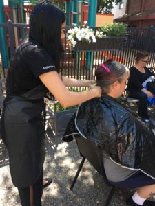 Maryhouse Haircut event
