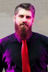Dustin and his fabulous beard.