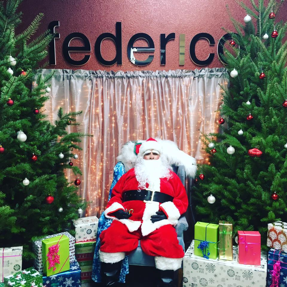 Santa at Federico