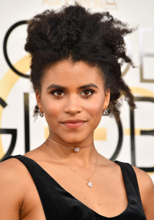 Zazie Beetz, star of the new series, Atlanta