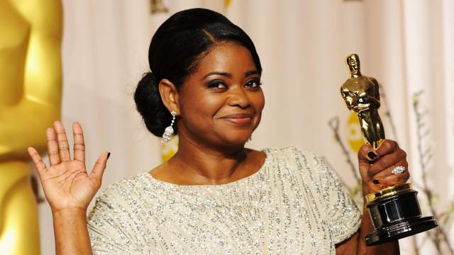 Jasmine's doppleganger Octavia Spencer at the Oscars