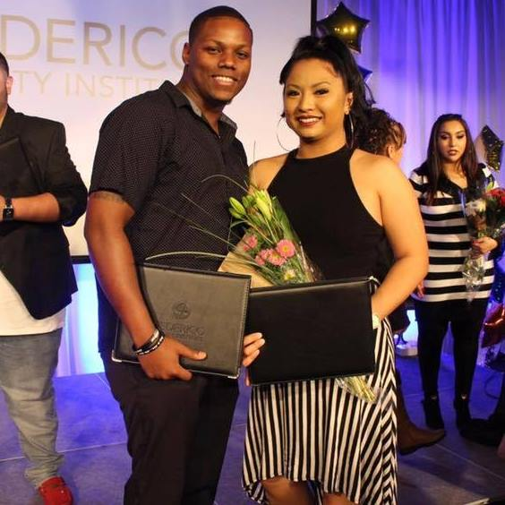 Xavier and Michelle White, the owners of XM Hair Studio